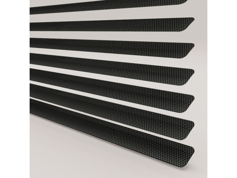 Alumi PERFORATED 25mm Aluminium Venetians - 6 Colours