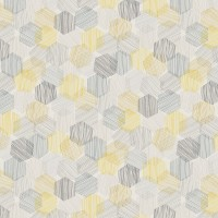 100% Polyester HEXAGON - 3 Colourways.