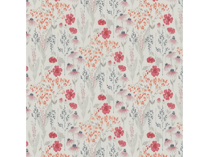 100% Polyester MEADOW FLOWER - 3 Colourways.