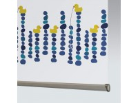29% PVC / 71% Fibreglass QUACKERS BLACKOUT - 1 Colourway.