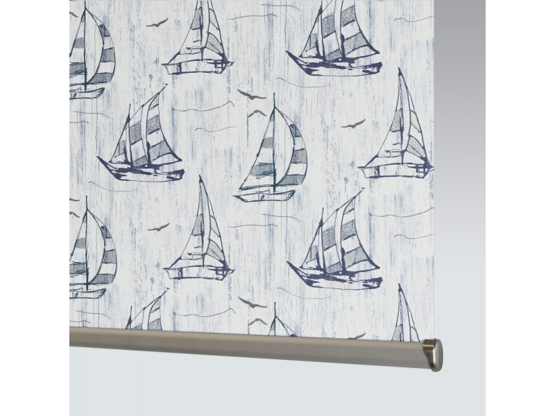 29% PVC / 71% Fibreglass SAILBOAT BLACKOUT - 1 Colourway