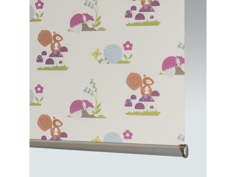 100% Polyester WOODLAND STORY B/O - 1 Colourway