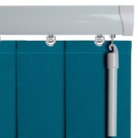 Senses Vertical Head Rails (White Series)