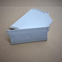 "Vertical Bottom Weights 127mm (5"") WHITE Pack Quantities"