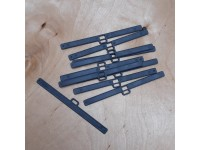 """Vertical Top Hangers 127mm (5"""") ANTHRACITE Pack of 10"""