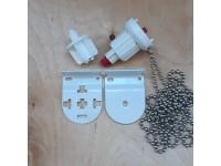32mm Roller Refurbishment Set (Louvolite) Red Pin Easi-Load