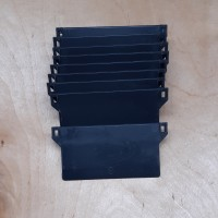 """Vertical Bottom Weights 89mm (3.5"""") ANTHRACITE Pack Quantities"""