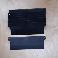 """Vertical Bottom Weights 127mm (5"""") BLACK Pack Quantities"""