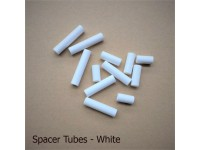 Vertical Tilt rod Spacer Tube WHITE - Pack Quantities