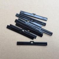 "Vertical Top Hangers 89mm (3.5"") BLACK Pack 10"