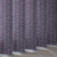 Vertical Slats in 100% Polyester FLOYD asc - 7 Colourways