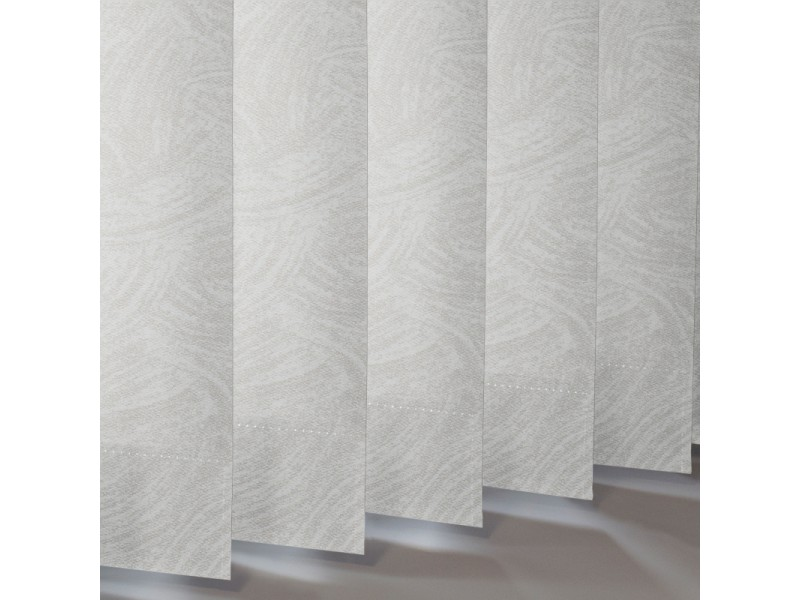 Vertical Slats in 29% PVC / 71% Fibreglass REFLECTION FR - 2 Colourways