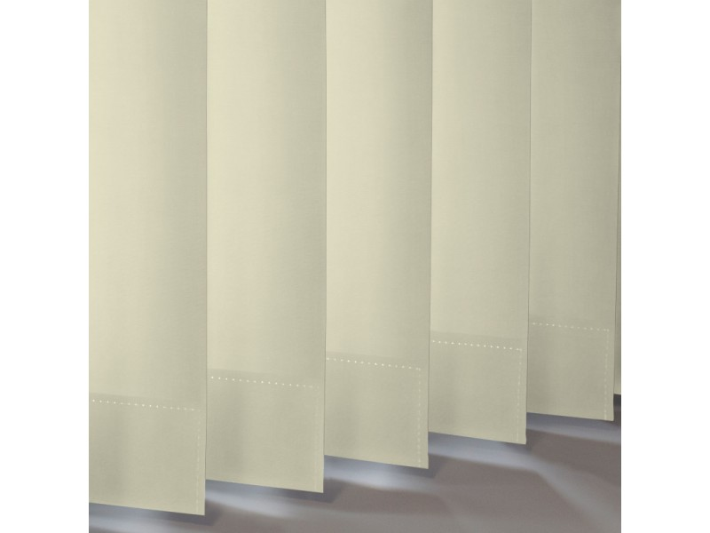 Vertical Slats in 100% Polyester BANLIGHT FR (Blackout) - 6 Colours